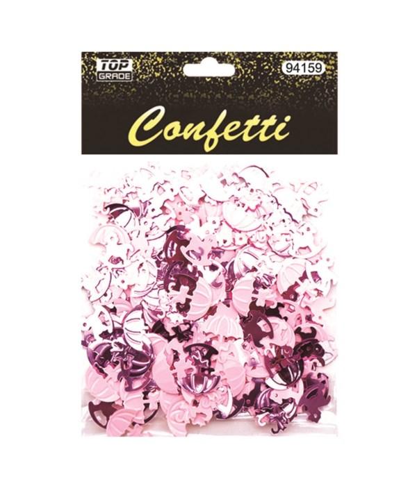confe pony+umbrella pink12/288