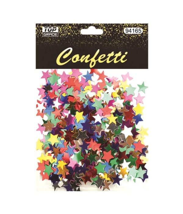 confetti star astd clr 12/288