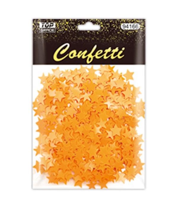 confetti star gold 12/288s
