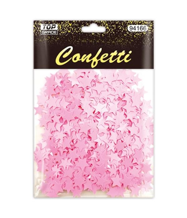 confetti star bb-pink 12/288s