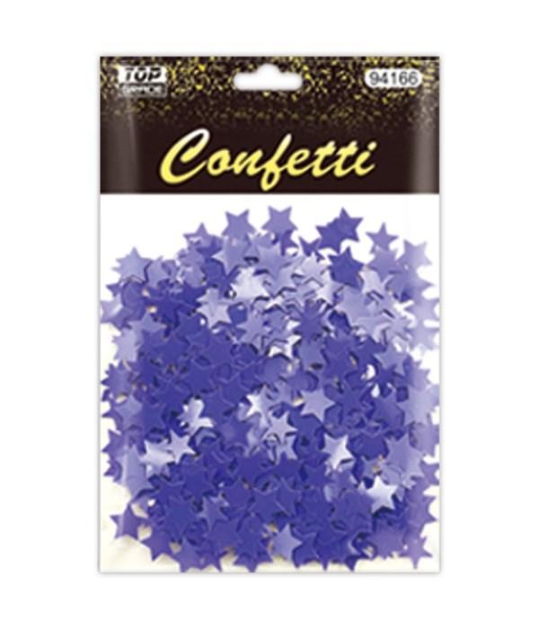 confetti star purple 12/288s