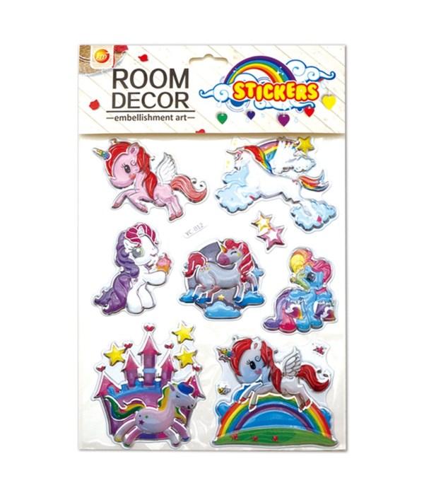 room deco. sticker 12/600s