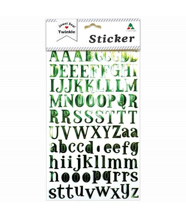 shiny sticker 12/600s