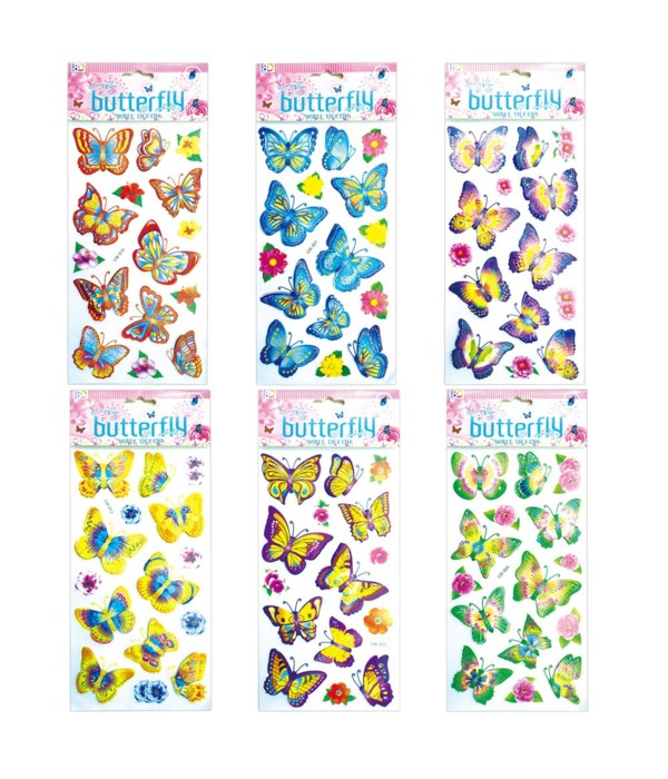 stickers butterfly 12/600s