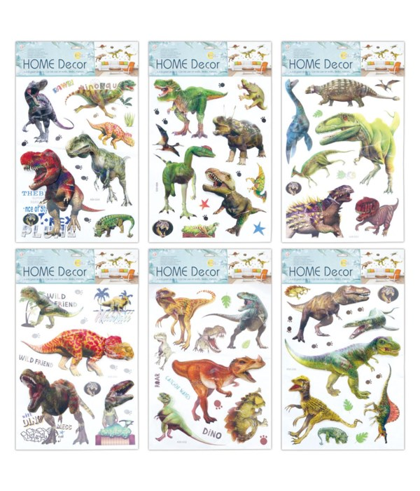 3D stickers dinosaur 12/240s