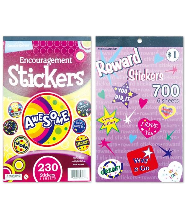 sticker book 12/480s