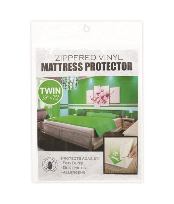 zippeed mattress cover/T 24s