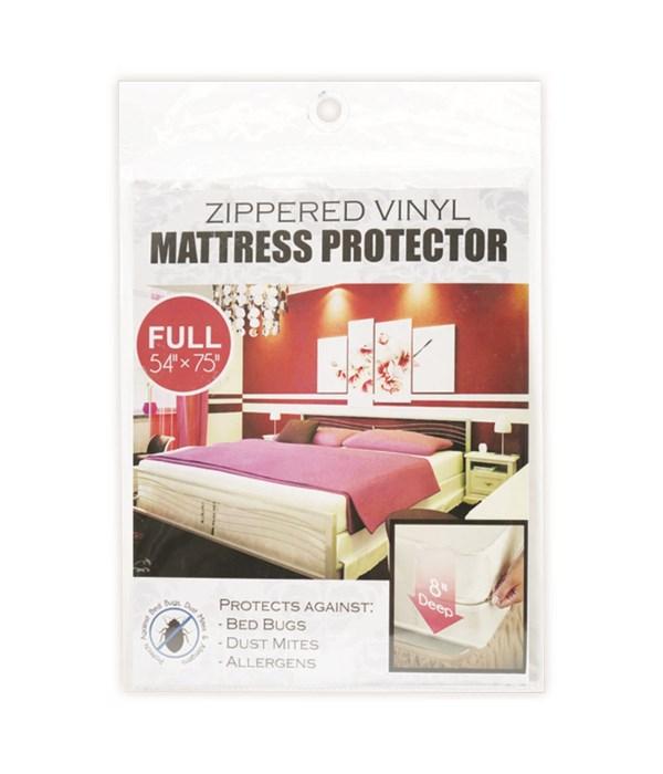 zippeed mattress cover/F 24s
