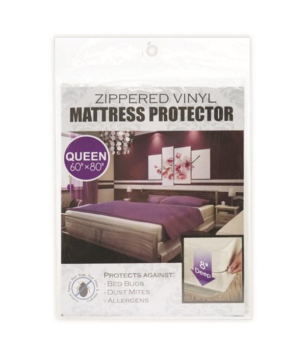 zippeed mattress cover/Q 24s