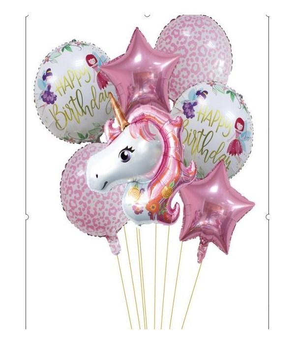 7pc unicorn set 12/144s