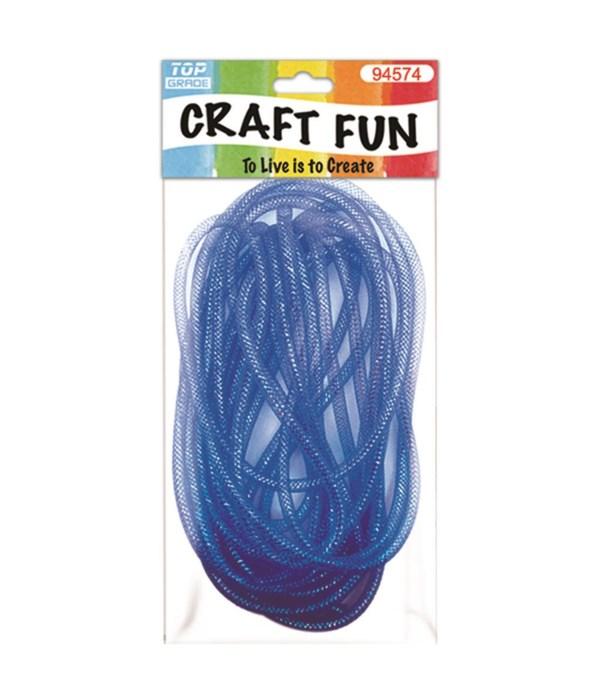 mesh waffle ribbon blue 12/96
