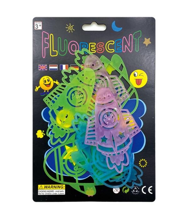 glow sticker star 24/144s