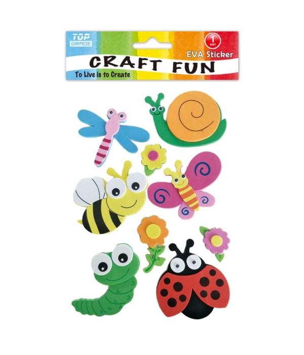 EVA sticker ladybug 12/144s