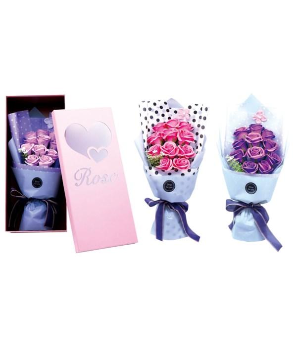 soap rose w/window box 20s