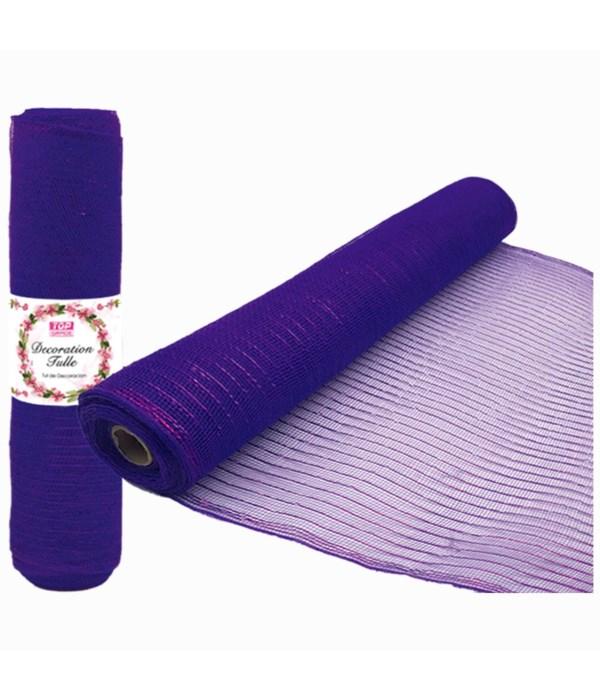 tulle roll purple 5/25s
