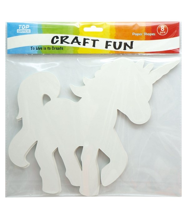 unicorn paper shapes 12/288s