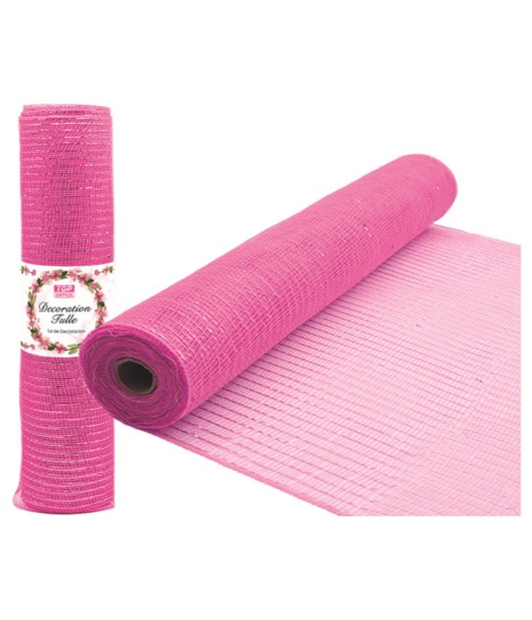 tulle roll bb-pink 5/25
