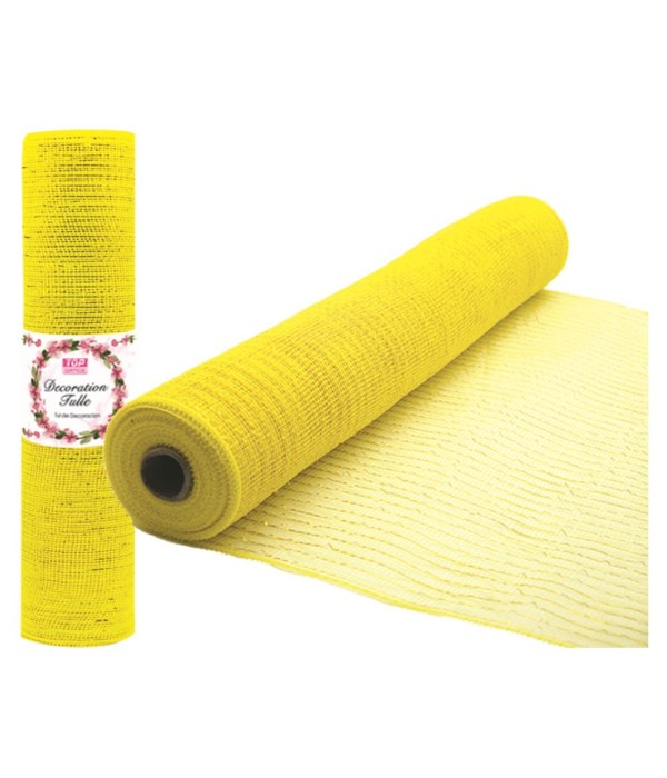 tulle roll yellow 8/48s