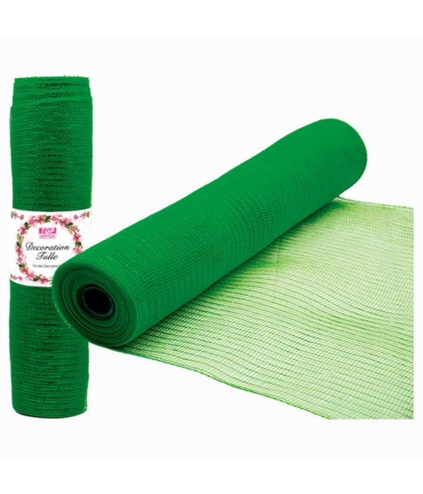 tulle roll h-green 12/72s