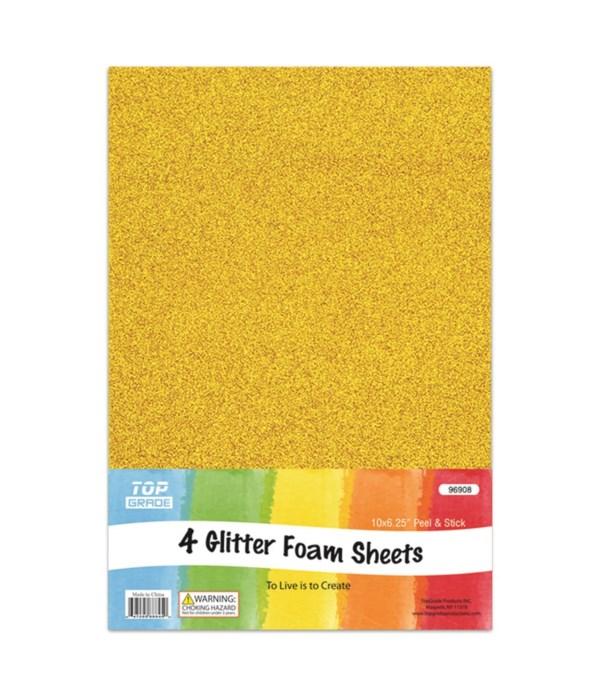 EVA glitter sheet gold 12/72s