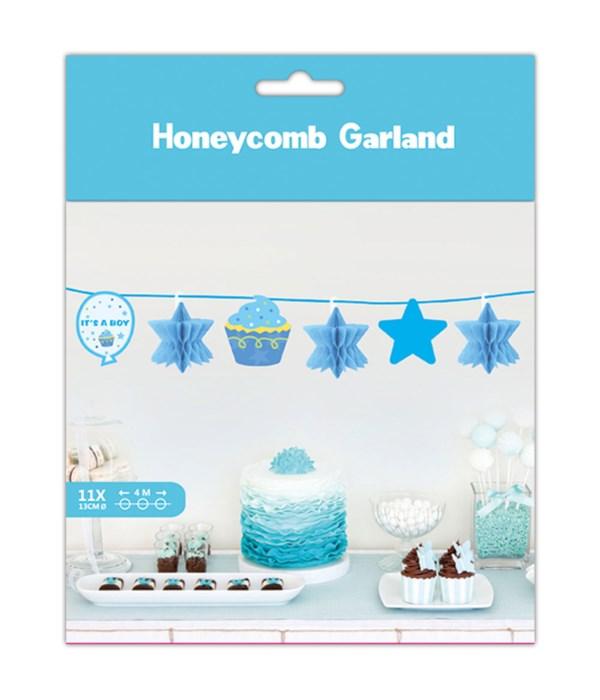 13.3ft honeycomb garland12/120