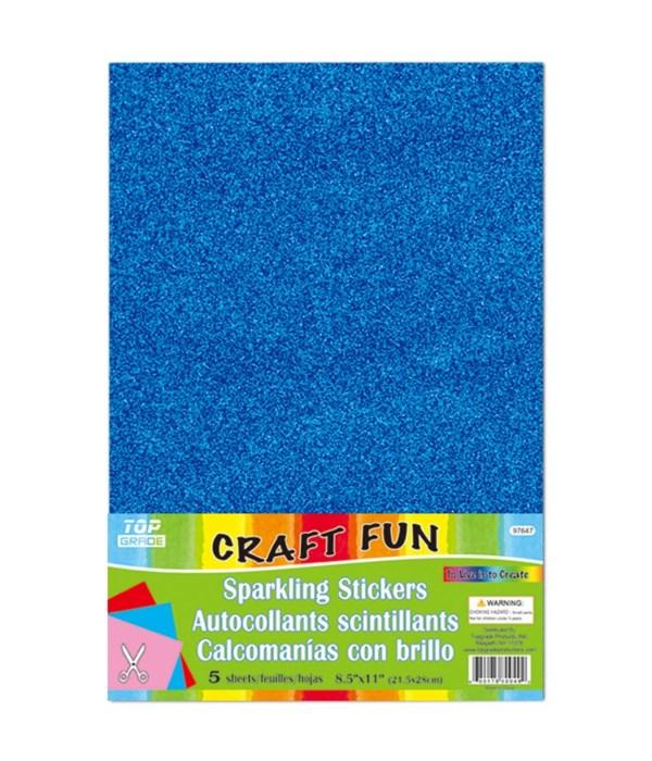 sparkling sticker blue 24/192s