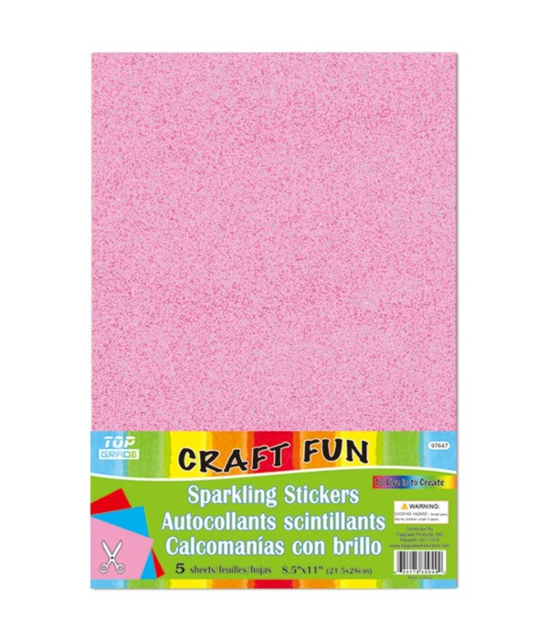 sparkling sticker pink 24/192s