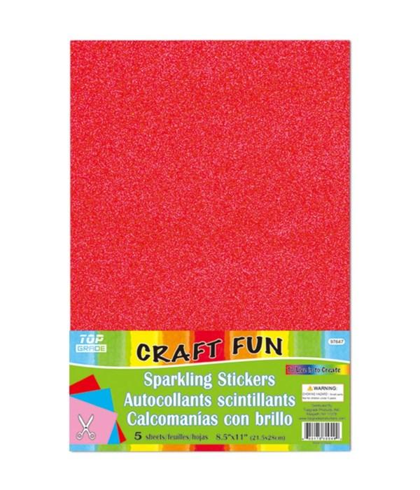 sparkling sticker red 24/192s