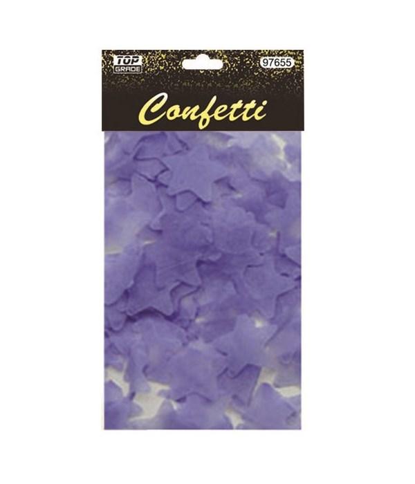 15g star confetti purple12/432