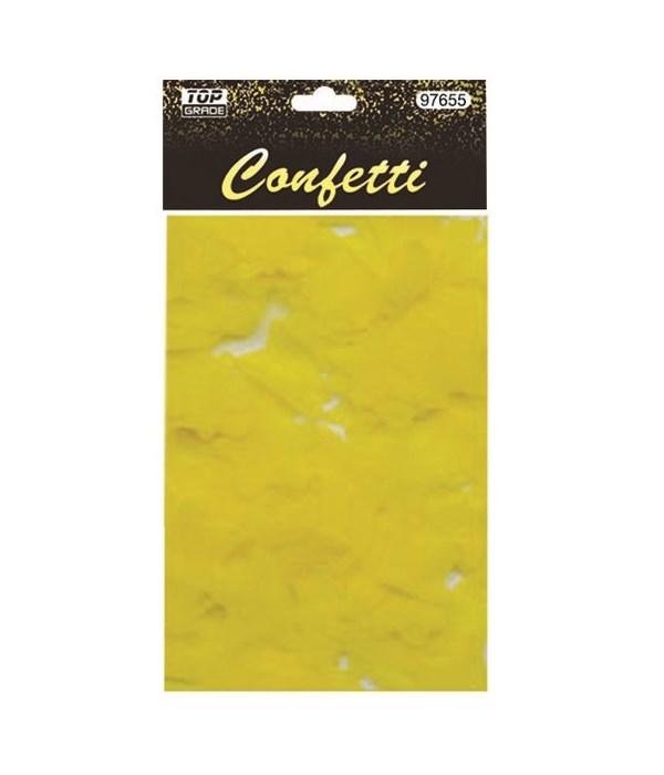 15g star confetti yellow12/432