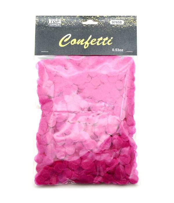 15g rd confetti hot pink12/432