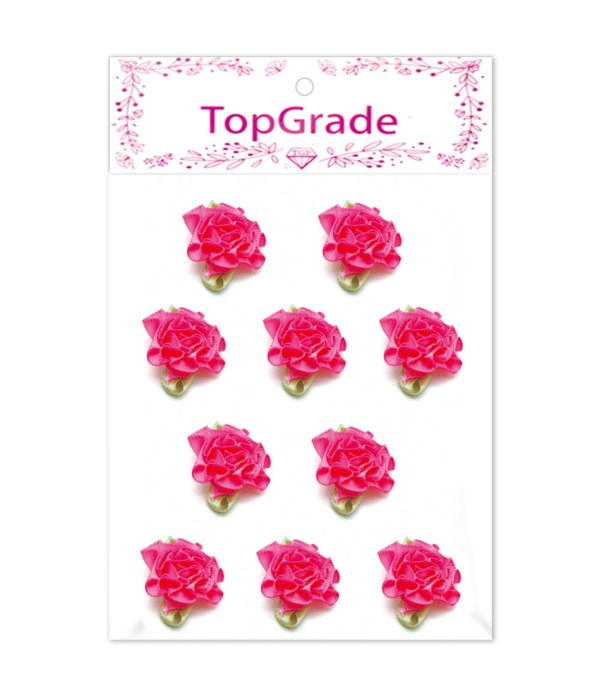 stain flower rose red 12/600s