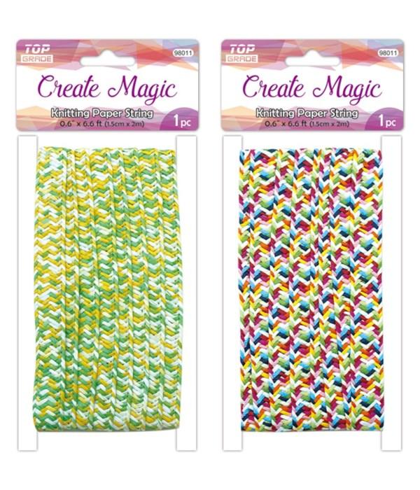 knitting paper string 12/720s