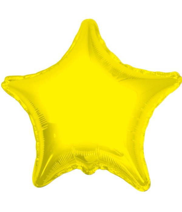 2-side solid/star yellow 25's