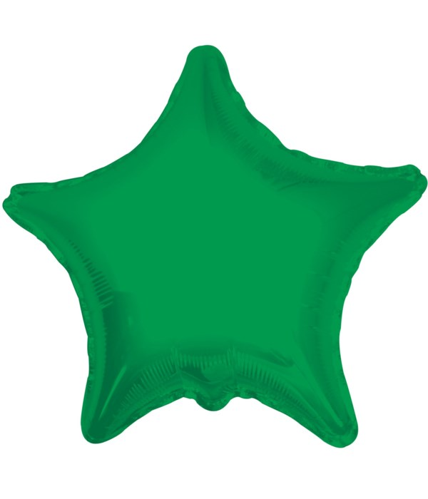 2-side solid/star green 25's