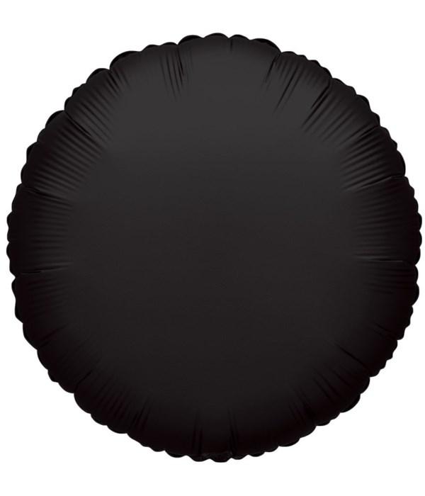 2-side solid/rd black 25's