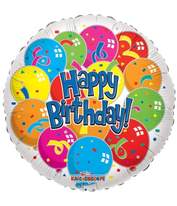 1-side birthday balloon 25's