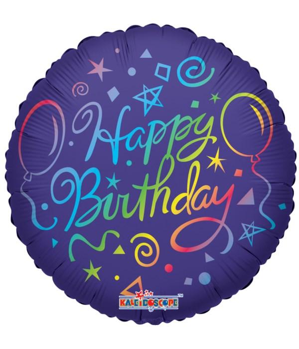 1-side birthday cake 25's