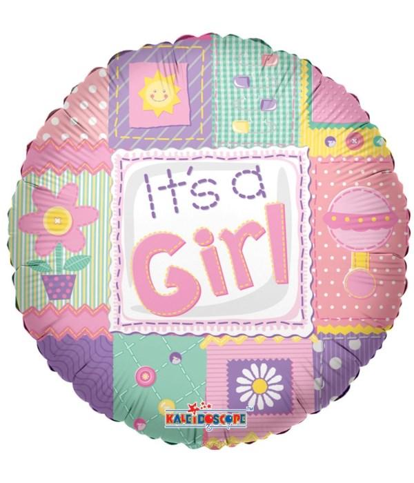 """1-side """"it's a girl"""" 25's"""