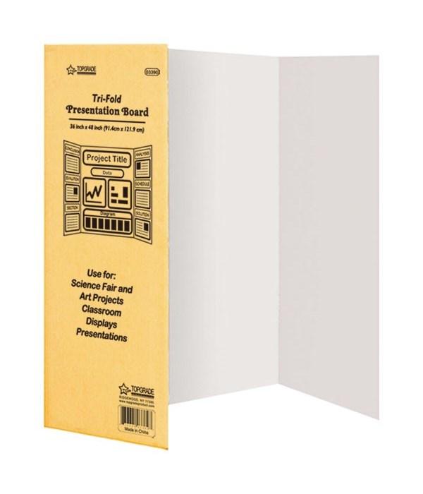 "trifold board 36x48""/30s"