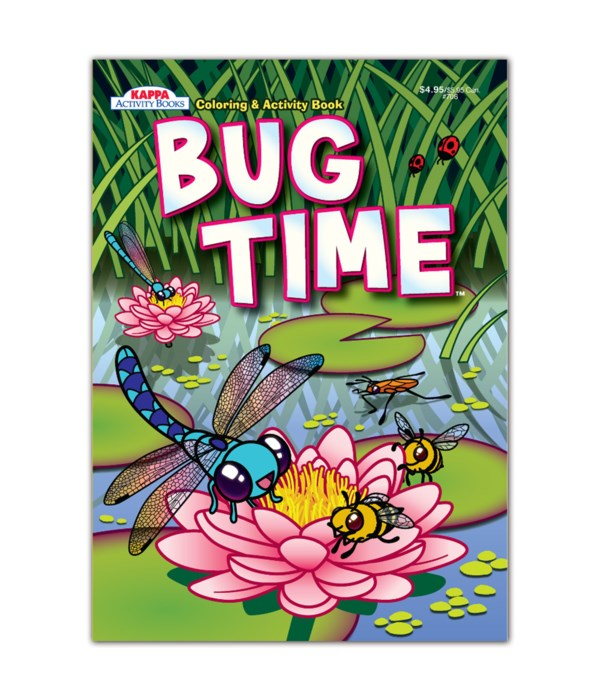 bug time coloring book 80S