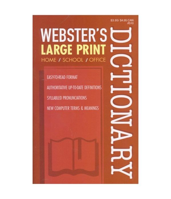 webster English dictionary 18s