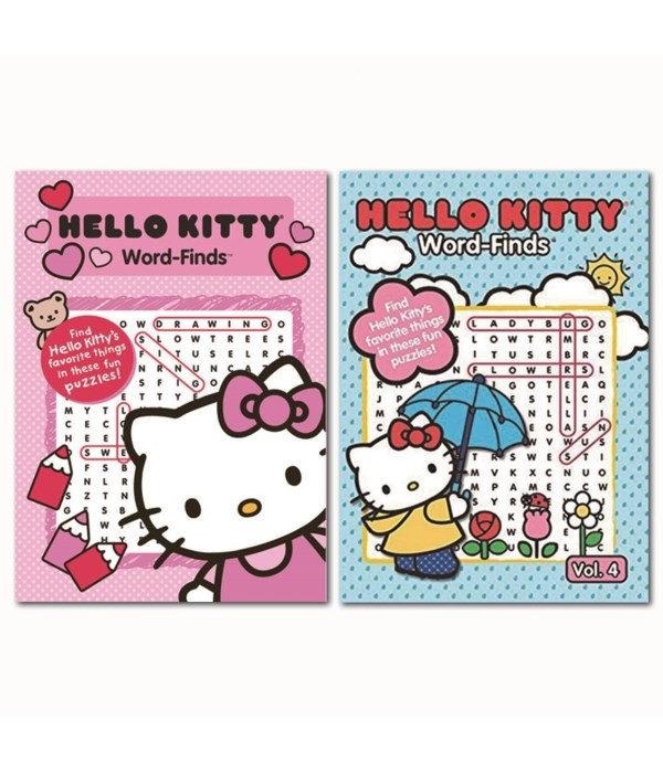 hello kitty word finds 48s