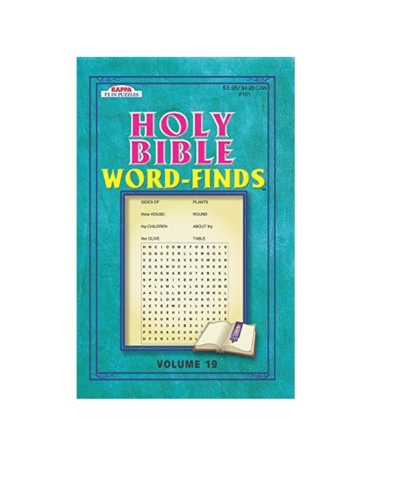 holy bible word finds 90s