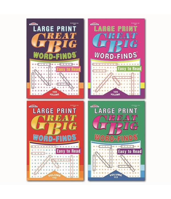 giant easy word finds 80s