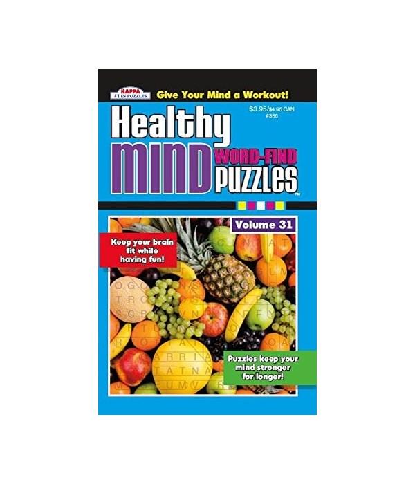 healthy mind word find 72s