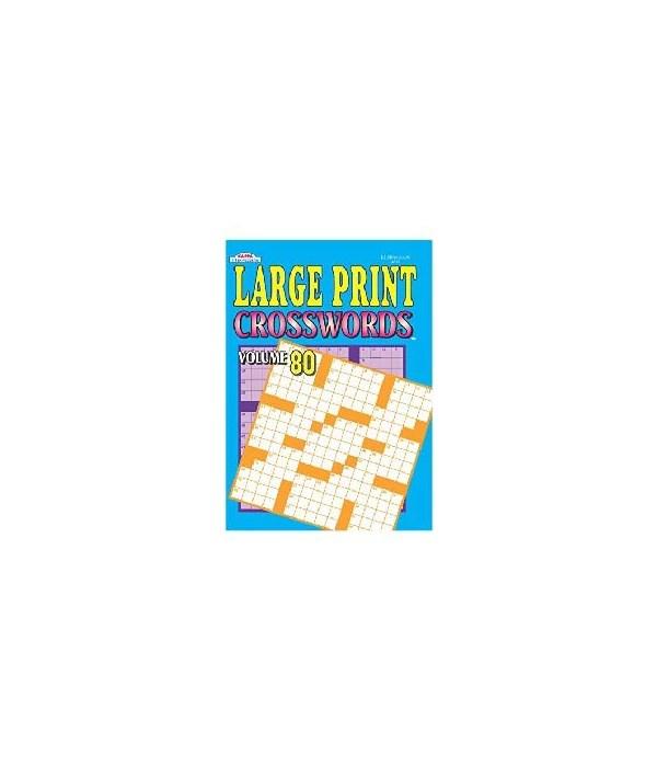 large print crossword 80s