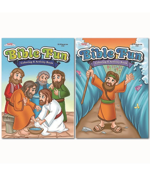 Bible Stories Coloring 48s