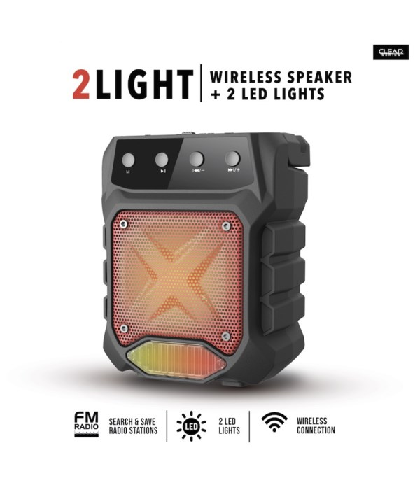 Wireless Speaker with 2 LED