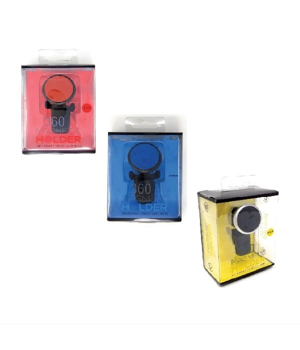 magnetic car holder bl/red/bk